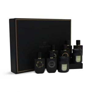 6 Oriental Oud Perfume and 2 Bukhoor Gift Set