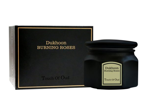Touch Of Oud Dukhoon Burning Roses 150gm with Box