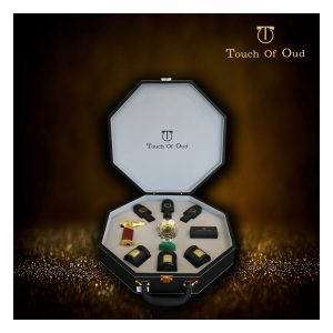 Touch of oud perfume bukhoor gift set