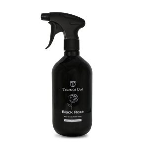 Black rose room spray bottle image