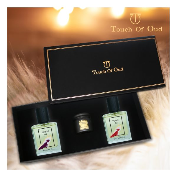 Touchofoud Touch1,Touch2 and Dukhoon Amyaz GiftBox Design