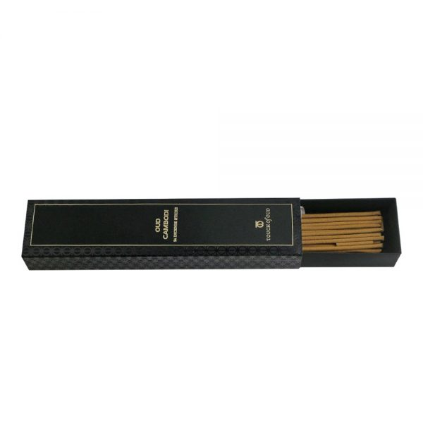 ouch Of Oud Oud Cambodi Incense Sticks and Holder Box