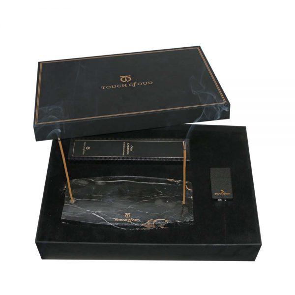 ouch Of Oud Oud Cambodi Incense Sticks and Holder full Box
