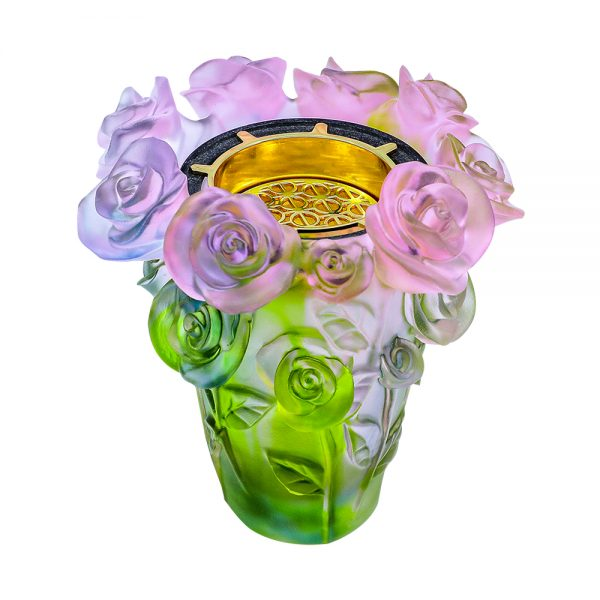 Touch Of Oud Burner Pink Green Mix Flower 2