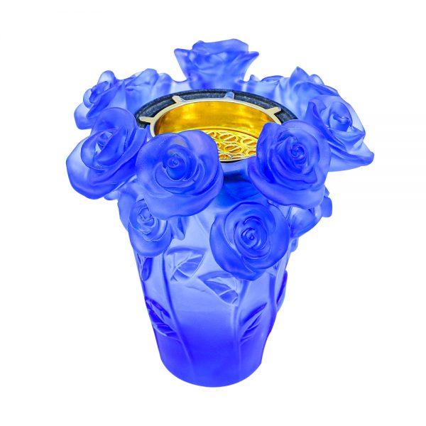 Touch Of Oud Burner Sky Blue Flower 2