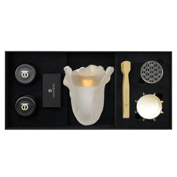 Touch Of Oud 5pc Gift Set White Cabbage Burner