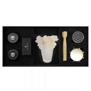 Touch Of Oud 5pc Gift Set White Flower Burner 1