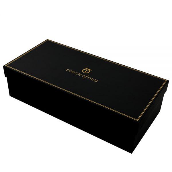 Touch Of Oud 5pc Gift Set White Flower Burner Box