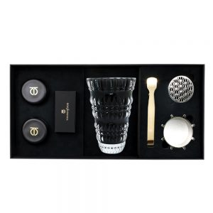5pcs Gift Set Black Burner Bukhoor Dukhoon 1