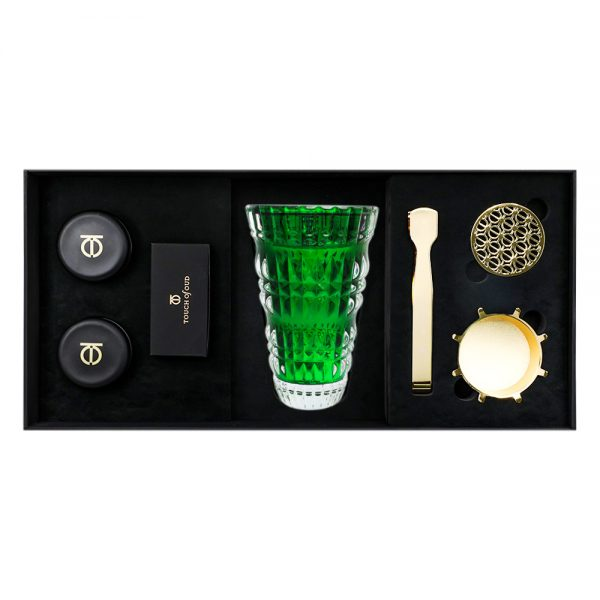 5pcs Gift Set Green Burner Bukhoor Dukhoon 1