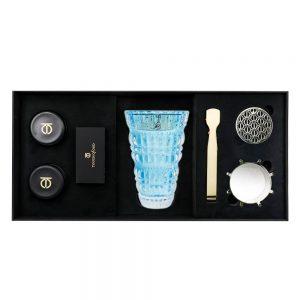 5pcs Gift Set Lake Blue Burner Bukhoor Dukhoon 1