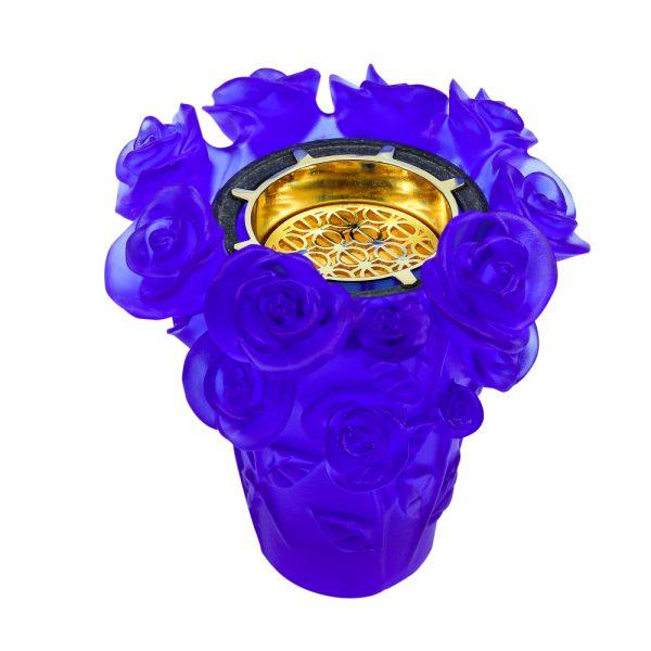 Touch Of Oud Burner Blue Flower 2