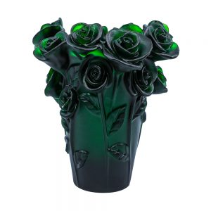 Touch Of Oud Burner Dark Green Flower 1