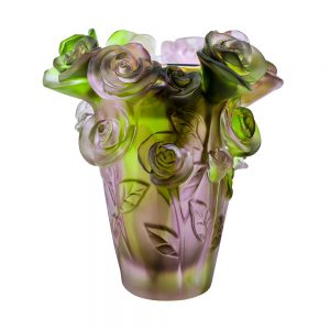 Touch Of Oud Burner Green And Purple Mix Flower 1