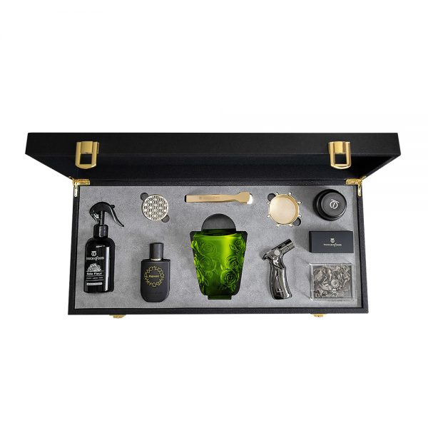 Touch Of Oud 8Pcs Gift Set - Green Burner 1