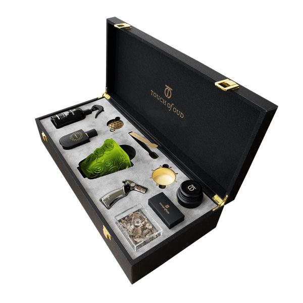 Touch Of Oud 8Pcs Gift Set - Green Burner 2