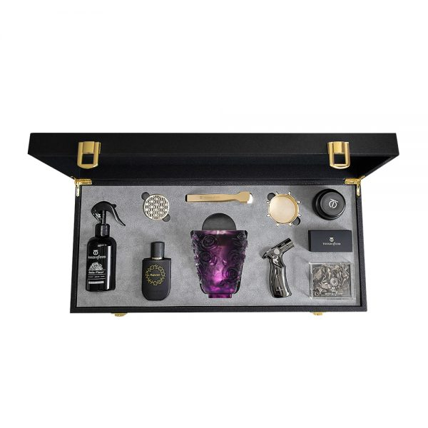 Touch Of Oud 8Pcs Gift Set - Purple Burner 1