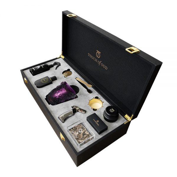 Touch Of Oud 8Pcs Gift Set - Purple Burner 2