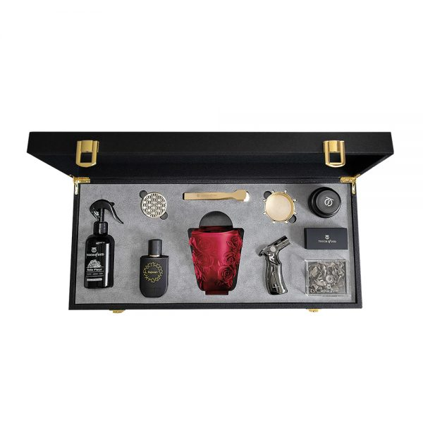 Touch Of Oud 8Pcs Gift Set - Red Burner 1