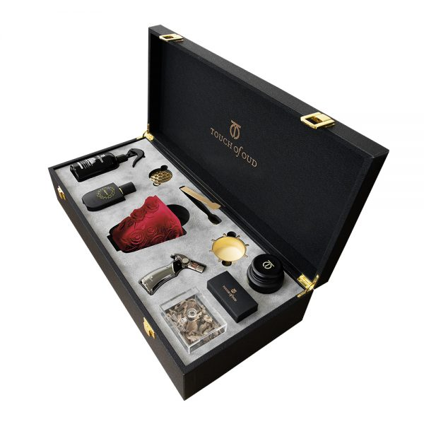 Touch Of Oud 8Pcs Gift Set - Red Burner 2